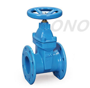Flexible Seal Flanged Handwheel Gate Valve pictures & photos