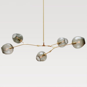 China Lindsey Adelman Globe Glass Branching Bubble Modern - 5 pendant light fixture