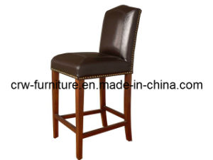 Leather Bar Chair (UF-215) pictures & photos