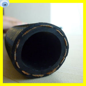High Pressure Fiber Braided Rubber Hose Flexible Oil Hose pictures & photos