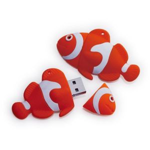 PVC Rubber Customized USB Flash Drive USB Stick Disk (PV-04C) pictures & photos