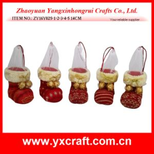 Christmas Decoration (ZY16Y025-1-2-3-4-5 14CM) Christmas Tissue Container pictures & photos