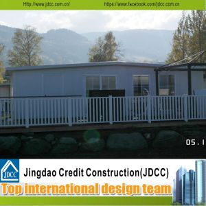 Beautiful Prefabricated Modular Residential Houses with French Windows pictures & photos