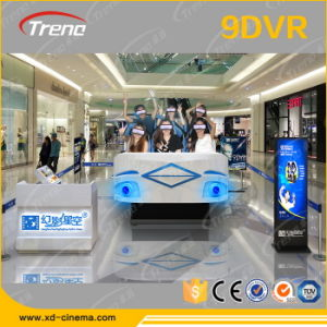 Shopping Mall Vr Vr Amusement Game Machine 9d Cinema Simulator for Sale From Zhuoyuan pictures & photos