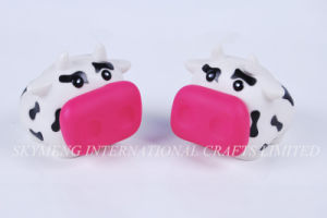 En71 Vinyl Plastic Cow Money Box