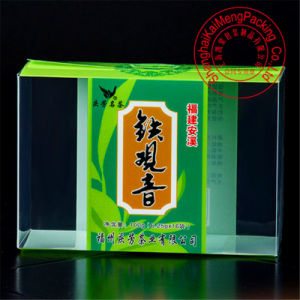 China Manufacturers Supply Plastic Tea Package Box Wholesale