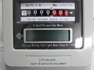 Prepaid IC Card Gas Meter (CG-FL-1.6)