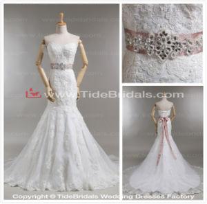 China Strapless Sweetheart Mermaid Wedding Gown Belt Lace Bridal Dress Wt1305 55 China Wedding Dress And Wedding Dresses Price