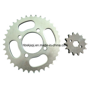 Q235 Steel Motorcycle Sprocket with Favorable Price pictures & photos