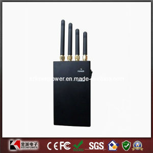 2W 4 Band WiFi Signal Blocker Cell Phone Jammer