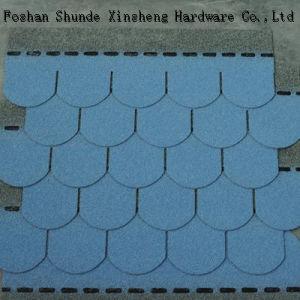 Building Material Fish Scale Asphalt Roof Shingle