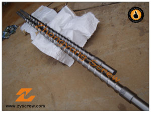 Bimetallic Single Screw Barrel for PE Extruder pictures & photos