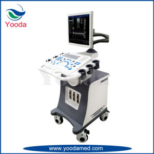 Medical and Hospital Supply Trolley Type Color Doppler Ultrasound Scanner