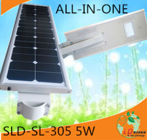 5W Integrated (All in one) Solar LED / Solar Street /Solar Garden Light