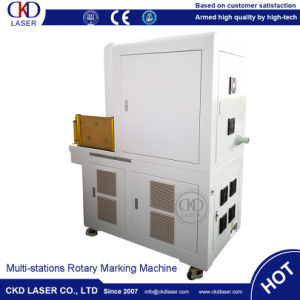 Rotary Multi Station Laser Engraving Machine for Pipe Line pictures & photos