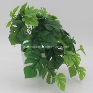 Real Looking Artificial Plant Monstera Bonsai for Decorate