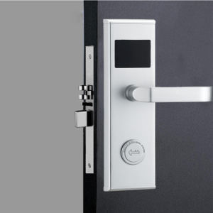 Factory Electronic Lock Smart Digital Card Hotel Lock with Intelligent Hotel Door Lock System pictures & photos