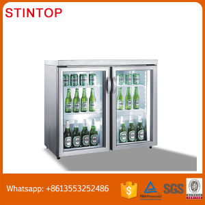Counter Top Cooler, Glass Door Mini Beer Bar Mini Fridge