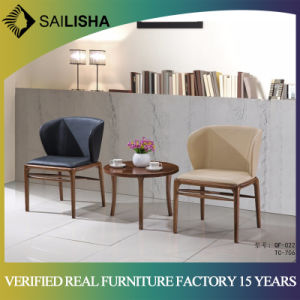 China Living Room Modern Wooden Tea Table and Comfortable Chair ...