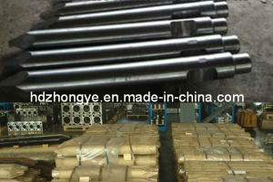 Soosan Hydraulic Hammer Chisel Stainless Steel Rock Breaker Drill Rod pictures & photos