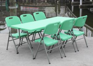 Sy-183z Green Outdoor Garden Table and Chair Sets