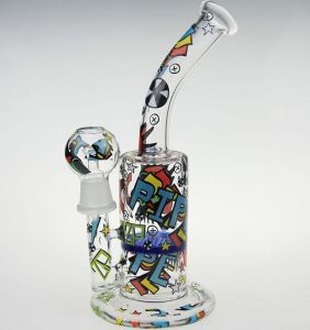 Vandalized Percolator Glass Smoking Water Pipe pictures & photos