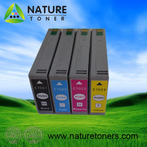 Compatible Ink Cartridge for Epson T7021, T7022, T7023, T7024 pictures & photos