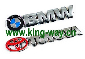 Car Badge for BMW and Toyota