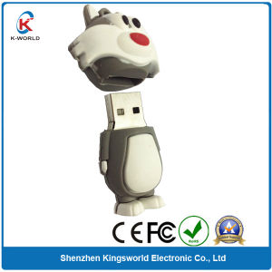 Attractive PVC Cartoon USB Pen Drive From 1GB to 32GB