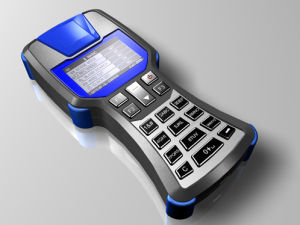 Fingerprint / Contact / Contactless Smart Card Handheld Reader