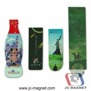 High Quality PVC Magnetic Bookmark pictures & photos