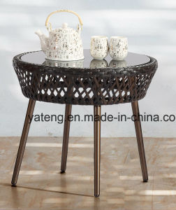 Cheap Price High Qaulity Outdoor Furniture Hotel Balcony Set with Chair& Table Using for Garden (YT1026) pictures & photos