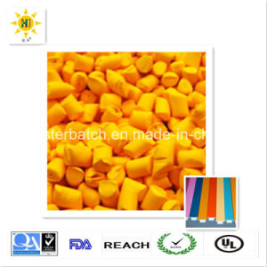 Environmental Yellow Masterbatch with Excellent Quality and Reasonable Price