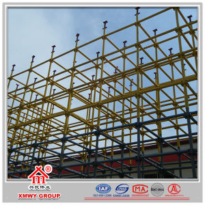 Cheap Scaffold of Steel Braced Frame Structure for Concrete