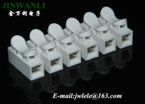 6 Pin Fast Connect Spring Terminal Block pictures & photos
