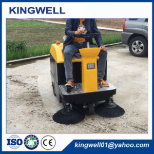 New Type School Warehouse Mini Electric Road Sweeper (KW-1050) pictures & photos