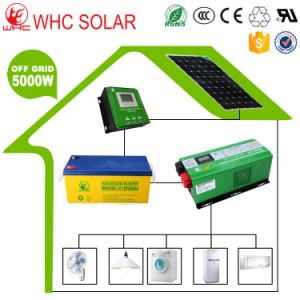 Customized Design 5000W Solar Panel System with 3 Years Warranty pictures & photos