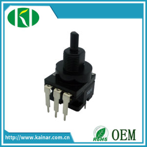 Jiangsu Rotary Linear Potentiometer with Push Switch Wh116ak-1 pictures & photos