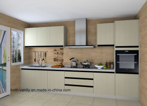 Custom-Made Melamine Series Home Kitchen Furniture pictures & photos