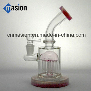 Colorful 1 Dome Perc Glass Water Percolator Pipe (AY015) pictures & photos
