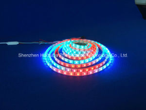 RGB IP65 Full Color SMD5050 Chip 60LEDs 18W DC24V LED Strip pictures & photos