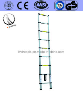 8 Steps Telescopic Aluminium Ladder with Stable Quality