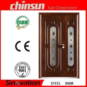 Professional Steel Glass Security Door with Good Quality