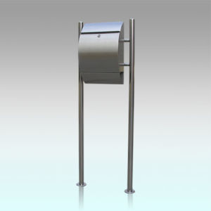 Gh 1311s2u Stainless Steel Free Standing Outdoor Mailbox