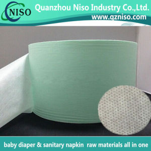 HS Code: 5603.1100 White SMMS Nonwoven for Baby Diaper and Adult Incontinence Pads Legcuff pictures & photos