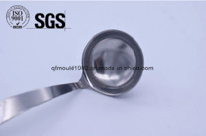 Stainless Steel Green Tea Laser Logo Teaspoon (ISO) pictures & photos