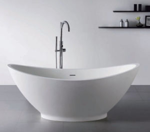 Best Price Solid Surface Bowl Shape Japanese Bathtub