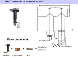 24 Kv T Type Connector with Surge Arrestor pictures & photos