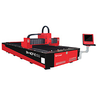 500W Ipg Fiber Laser Cutting Machine for Thin Metal