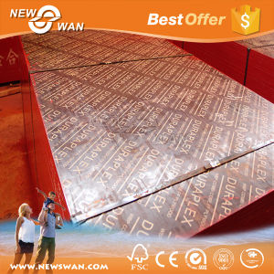 18mm Bamboo Core Construction Laminated Plywood for Tanzania Market pictures & photos